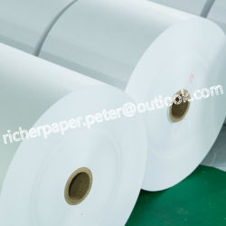 prix d'usine de grade alimentaire papier kraft blanc