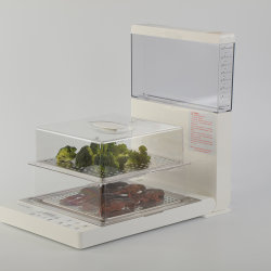Edelstahl-Nahrungsmitteldampfer-Küche-Gerät