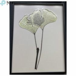 Cinco conjuntos de pinturas personalizadas chineses pendurar folhas verdes Pintura (MR-YB6-2057B)