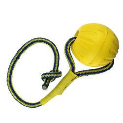 EVA-Schaumgummi-Haustier-Spielzeug mit Seil für Welpen/Hund
