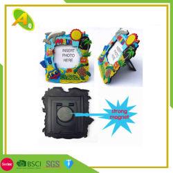 カスタム3Dクリスマスのロゴの昇進のギフト柔らかいPVC写真フレーム(001)