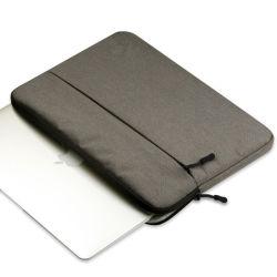 Estilo clássico das mangas de notebook para laptop 14polegadas super sacos cinza fino