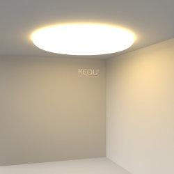 جديد 18W سقف قفي ضوء خافتضوء مصباح سقف من الألومنيوم المستدير مصباح LED بلوحة إضاءة لوحة مسطحة LED من تثبيتة دائرية LED