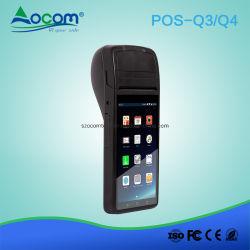 Android 6.0 Portable POS Terminal con impresora térmica de 58mm