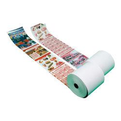 Тепловой кассовых рулона бумаги 80х80мм и 57х50мм, 57X40мм)