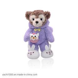 Custom Soft farcies ours en peluche avec le lapin en peluche de vêtements