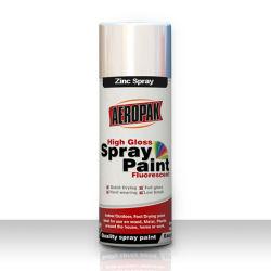 Vernice di spruzzo asciutta veloce dello zinco dell'aerosol di Aeropak