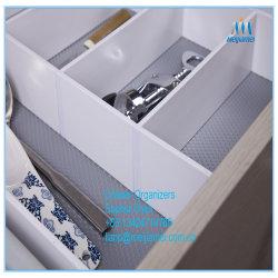 Ustensiles de cuisine, une penderie Accessoires Matériel PVC du diviseur de tiroir