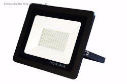 Indicatore luminoso di inondazione di SMD 30W50W100W200W LED con alloggiamento nero per l'indicatore luminoso esterno