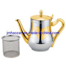 Arabien-Edelstahl-Wasser-Kessel mit 0.8L 1.2L 1.5L