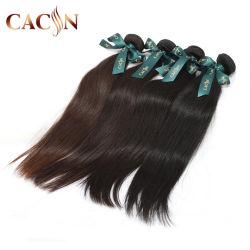 Barata 100% Natural Sintético no bruto Remy Virgen pelo Brasil Paquetes de tejer cabello humano.