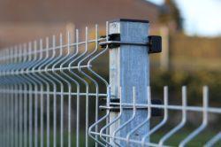 3D de feux de croisement galvanisé à chaud sur le fil du panneau de clôture