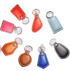 プロ用超軽量 MIFARE S50 Classic 1K RFID Custom Leather Key Fob