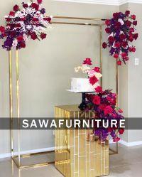 注文の明確なアクリルの装飾のゴムのプラスチック中空の気球の容器の結婚式党のための花の立場