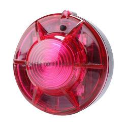 Nueva Luz estroboscópica de advertir de la señal de alarma de seguridad de la sirena de advertencia de la luz intermitente estrobo LÁMPARA DE LED de luz LED de aviso de sensores de seguridad