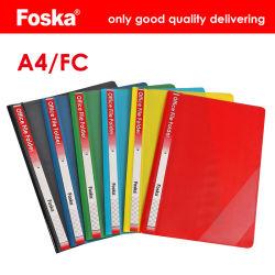 Foska Escritório Pasta de arquivos de papel de cor sólida