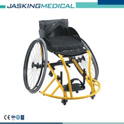Sedia a rotelle di alluminio di andata concentrare di sport di pallacanestro (JX-687LQ-36)