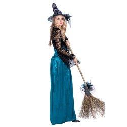 Reizvolle Kostüme für Frauen-Halloween-Hexe-Kostüm erwachsene Cosplay Abendkleid-Karnevals-Kostüme