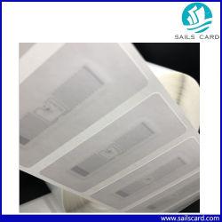 La stampa/abitudine di carta adesive impaccanti all'ingrosso dell'autoadesivo ha stampato i contrassegni