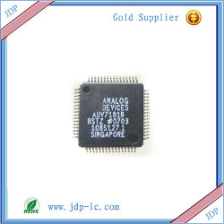Nuevo anuncio importado7181Adv bbstz chip decodificador de vídeo originales Qfp64