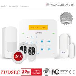 Sistemas de alarme com fio sem fio GSM para o alarme Telecare Sênior de Produto de Cuidados de Saúde única equipa cair detector, produto de Home Care