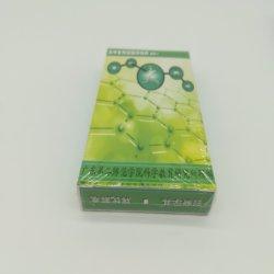 Handmade Green Design Gloss Double côté des cartes à jouer avec de grandes Type Ad. Yh Poker380