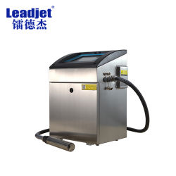 中国の連続的なインク供給方式の産業インクジェット日付のコーディングプリンター機械