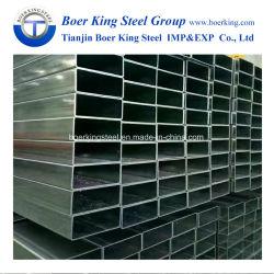건축자재를 위한 ERW 정연한 용접 강관 또는 직류 전기를 통한 직사각형 관 또는 직사각형 관
