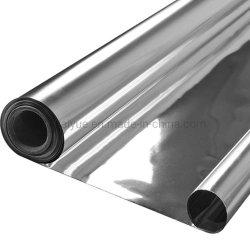غشاء بوليستر معدني 12 ميكرون يستخدم في توجيه مواد العزل