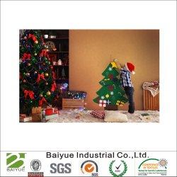 De Ambacht van de Decoratie van Kerstmis in de Vriendschappelijke Polyester die Eco wordt gevoeld van 100%