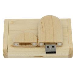 Bois stylo lecteur Flash USB de l'appui de l'impression USB Stick Logo gratuit 2.0 3.0