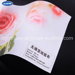 Imprimível Eco-Solvent papéis de parede Xuan pano tecido na parede para Home Office Hotel Personalização de exposições de material de impressão
