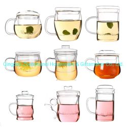 Filtragem de vidro Pyrex Chá com Infuser chaleira para chá Cup