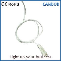 Les étagères avec éclairage LED 24 V feux de 3014 SMD Bande avec clip fixe le cabinet d'éclairage LED de feux de tube