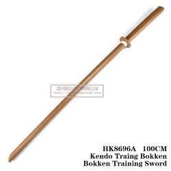 Arte marcial chinesa de espadas de madeira 100cm HK8696A/HK8696b