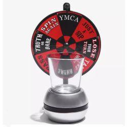 ميني روليت العجلة الطرف مورد طلقة الأشعة والعصر عجلة مع لعبة الروليت عجلة الشرب