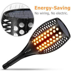 Lampada dell'indicatore luminoso della torcia di Halloween LED di via del prato inglese dell'iarda del giardino di energia solare