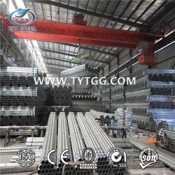 Tubos de aço estrutural/tubos de andaimes, ASTM A252, GR1/2/3 classes de pintura