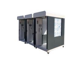 De mobiele Sterilisator van het Kanaal van de Desinfectie Thermometry desinfecteert Apparatuur met Ce en RoHS/Mobiele Intelligente Temperatuur Mesurement en het Kanaal van de Desinfectie