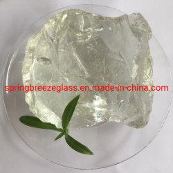 Super White Cristal rocas en stock para la decoración y paisajismo
