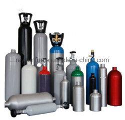 Naadloze Hoge druk Scba & de Cilinder van het Aluminium van de Scuba-uitrusting