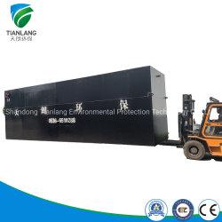 Máquina de tratamiento de aguas residuales industriales, Paquete Planta Depuradora, Mbr el equipo de tratamiento de aguas residuales, tratamiento de aguas residuales médicos