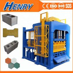 Qt de alto rendimiento10-15 bloque hueco de concreto automática máquina pavimentadora de Maquinaria para fabricar ladrillos en Bangladesh