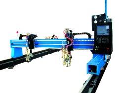 Serviço pesado velocidade alta tipo gantry plasma CNC e chamas máquina de corte
