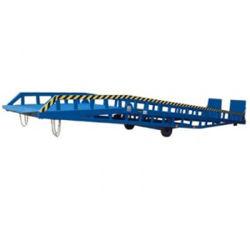 Pátio Móvel transportáveis de Carga Pesada da Plataforma de carga na plataforma de ponte para o recipiente