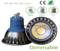 セリウムおよびRhosのDimmable GU10 3Wの穂軸LEDの点ライト