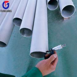 ASTM A312 A213 Seamless 316L 310S 321 304 316 do Tubo de Aço Inoxidável