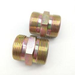 Messing zeskantige pijpkoppeling met schroefdraad voor Auto Parts