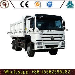 최신 가격 Sinotruk HOWO 6X4 290-371HP 쓰레기꾼 또는 팁 주는 사람 트럭 덤프 트럭 새로운을%s와 사용하는