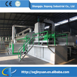 De Installatie van de Distillatie van Continious om Sluge, de Gebruikte Olie van de Motor te raffineren